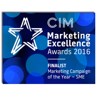 CIM Marketing Excellence Awards 2016 - Marketing Campaign of the Year Award SME - Finalist