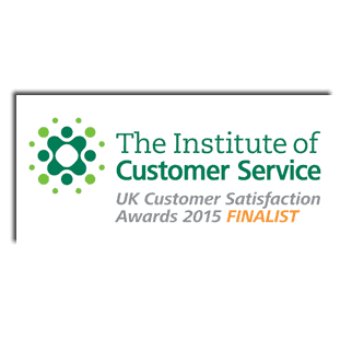ICS Institute of Customer Service - UK Customer Satisfaction Awards 2015 - Customer Focus Award SME - Finalist