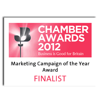 British Chamber of Commerce Business Awards 2012 Marketing Campaign of the Year Finalist