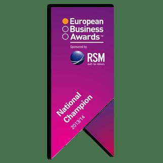 European Business Awards UK National Champion 2013/2014