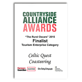 Countryside Alliance Awards 'The Rural Oscars 2015' Tourism Enterprise Award - Finalist