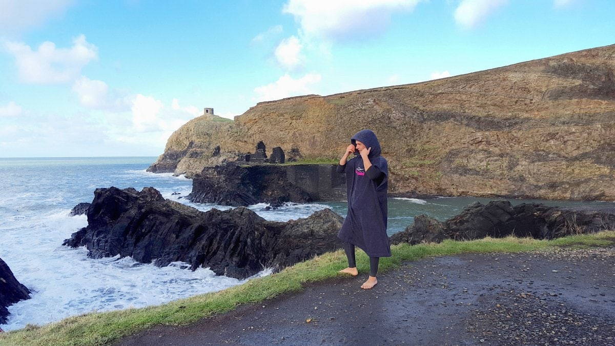 Step into our office, Abereiddy Bay and it\\\\\\\'s Blue Lagoon in Pembrokeshire Wales