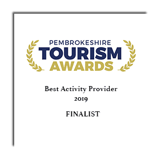 Pembrokeshire Tourism Awards 2019 - Best Activity Provider Finalist