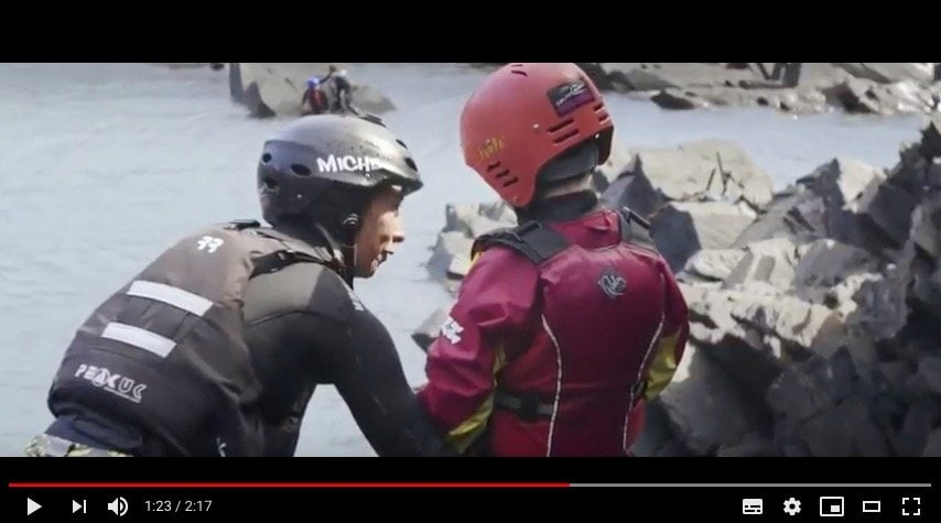 Coasteering compilation movie. Footage of children adventuring on the Pembrokeshire coast with the Celtic Quest Coasteering Team. Minimum age 8 years, young children and teenagers enjoy this activity.